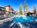 Living Room in Three Bedroom Condo at Mountain Thunder Lodge
