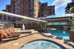 Outdoor Pool and Patio at The Village at Breckenridge