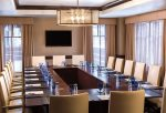 Meeting room and event space at the hotel