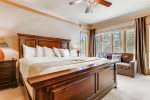 Master Bedroom - Chateaux DuMont 3 Bedroom Ski-In Condo in Keystone CO