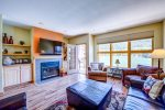 Open Living and Dining Room - 2 Bedroom - Keystone Lakeside Village Condos