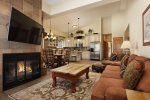 Snowmass Chamonix 54 Living Room by Gondola Resorts