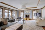 Living Room - 3 Bedroom Residence - The Arrabelle at Vail Square