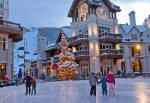 Outdoor Courtyard Sitting Area - The Lion Vail