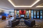 Artistic Lobby and Sitting Area - The Lion Vail