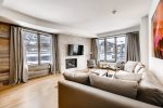 Living Room - Two Bedroom Residence - The Lion Vail