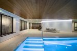 Outdoor Firepit in Courtyard - The Lion Vail