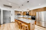 Kitchen Island - Two Bedroom Residence - The Lion Vail