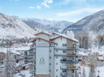 Private Balcony overlooking village - 2 Bedroom Residence - The Lodge at Vail Village