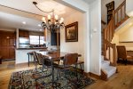 Antlers Vail Three Bedroom Residence Stairs Leading to Second Floor Plus Alcove/Desk Space