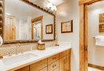 Water House Breckenridge Condominium 5208 Master Bath