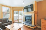 Living Room - 1 Bedroom Condo - River Run Village - Keystone CO