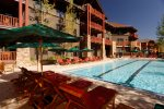 Outdoor Heated Pool - Ritz-Carlton Club at Aspen Highlands - 3 Bedroom