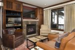 Living Room - Ritz-Carlton Club at Aspen Highlands - 3 Bedroom