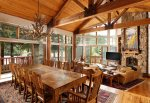 6 Bedroom East Aspen vacation home for rent.  Walk or shuttle to downtown.