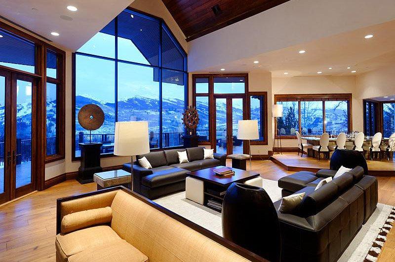 Aspen colorado luxury home for rent for Interni case bellissime