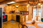 Warm, Inviting and Spacious Kitchen