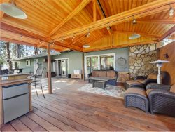 Private home with private basketball court, hot tub, fire pit and more