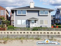 BEACHTOPIA at Seaside Beach:  Ocean Front On The Prom - North Unit