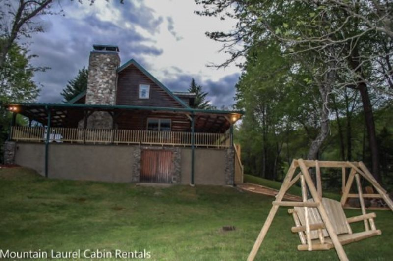 This Is A Beautiful Gated Cedar Log Cabin Sitting On Just