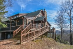 PARADISE LODGE: 5 BR/4BA Luxury Cabin With A Beautiful Mountain View, Wifi, Pet Friendly, Gas Grill, Pool Table, Air Hockey, Gas And Wood Burning Fireplaces, Outdoor Fire Pit, Private, Hot Tub, Jetted Tub, Starting At $350/night! *Wheel Chair Accessible