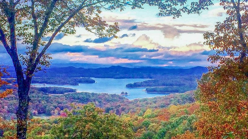Located Less Than 10 Minutes From Downtown Blue Ridge Ga