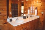 Master Bathroom, double sinks