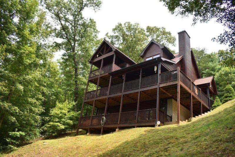 Fightingtown Creek Overlook | McCaysville, GA | North GA