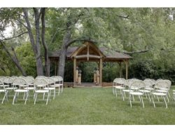 CHERRY LOG  PAVILION- - EVENTS VENUE --CALL OFFICE FOR PRICING AND BOOKING-Now Available for Weddings and Reunions-Banquet Room with Fireplace-Full Kitchen-Men and Women's Restroom's-Creek