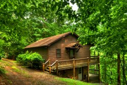 A HEAVENLY VIEW- 3Br/2Ba- Beautiful wooded lot close to Morganton, Hot Tub, Gas Grill, Satellite TV, Wood Burning Fireplace, Game Room With Air Hockey and Foosball! Starting at only $100 a Night!