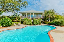 Flip Flop Repair Shop...with Private Pool 4BR/2BA located on Perdido Bay in Perdido Beach, AL