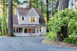 McKenzie Rapids river house is the perfect Oregon forest sanctuary.