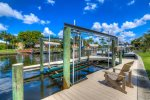 Boat Lift and Dock