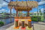 Tiki Bar with Seating
