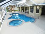 Pool and Spa with Electric Heater