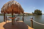 Boat Dock with Tiki Hut