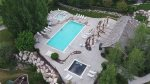 Aerial View of Pool Area