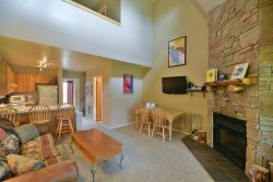 Vacation Condo with Views of Snowbasin and Pineview Lake at Wolf Creek Utah Resort