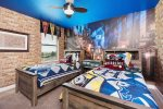 This magical bedroom was customized just for little wizards