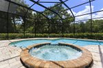 You will have plenty of privacy while taking a dip in your screened in pool