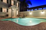 Enjoy your private pool and deck area perfect for the family vacation