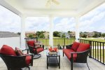 Luxurious lounge seating and amazing views from your private balcony