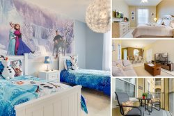 Frozen Magic | 2nd Floor Condo, Located in Bldg 5 Close to Clubhouse & Pool with Frozen Themed Bedroom