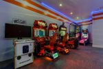 Enjoy the arcade games including Terminator Salvation, Multi Arcade and Fast and Furious racing