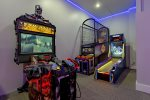 There is also Basketball and Skee-ball arcade