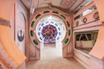 This custom built galaxy space themed bedroom is perfect for children of all ages