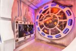 Feel immersed when you sleep in this space craft