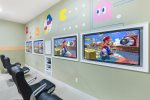 Play a friendly competition with the 47-inch SMART TVs, PlayStation 4, and Xbox 360