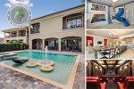 Muirfield Magic | 8,000 sq. ft. Luxury Villa with Spectacular Jack Nicklaus Golf Views, Theater Room, Custom Kids Pool Feature & Custom Games Room