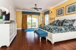 Lovely upstairs master suite bedroom 4